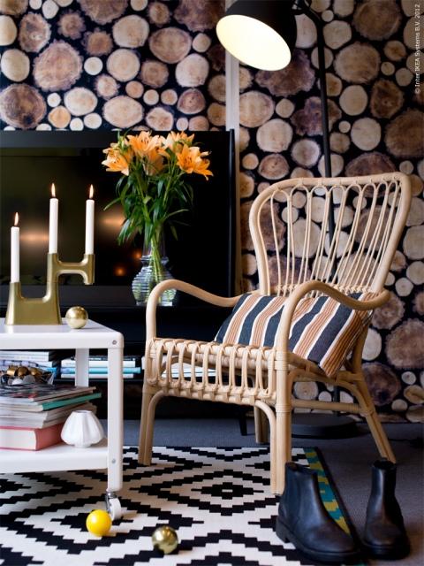 Check out IKEA's new fabric Margareta.