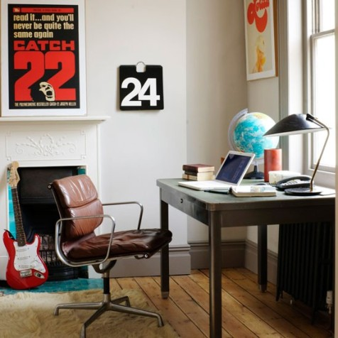 Retro home office