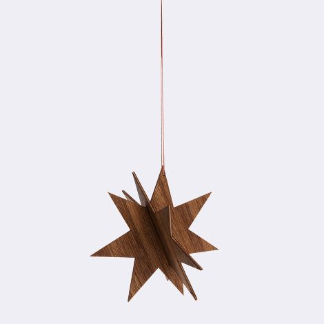 WOODEN STAR SMALL